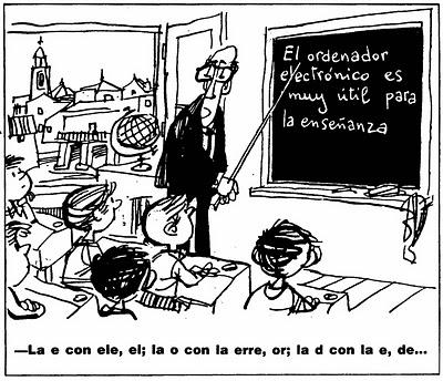 enseñanza digital